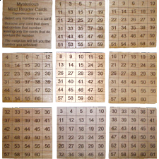 Mysterious Mind Reader Cards expanded set 61 cards - Magic Items