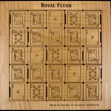 Royal Flush - Alder -