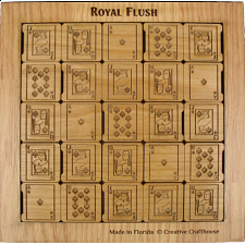 Royal Flush - Alder - Other Wood Puzzles
