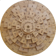 Safecracker 50 Puzzle - Other Wood Puzzles