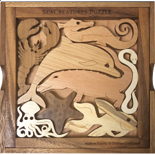 Sea Creatures - Other Wood Puzzles