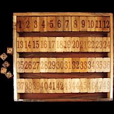 Shut the Box Game #1-48 Advanced version -