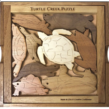 Turtle Creek - Wood Puzzles