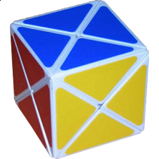 Dino Cube - White Body - Rubik's Cube & Others