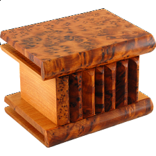 Moroccan Puzzle Box - Small - Wooden Puzzle Boxes