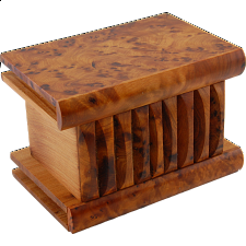 Moroccan Puzzle Box - Large - Wooden Puzzle Boxes