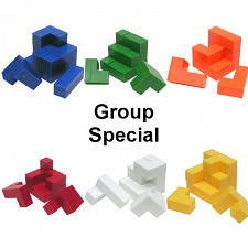 Group Special - a set of  6 Cube Puzzle - Impuzzables puzzles