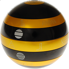 Isis:  Limited Edition - Black and Gold Orb - with Book - Andrew Reeves
