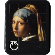 Altered Images - Girl with a Pearl Earring - Sliding Pieces Puzzles
