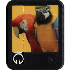 Brilliant Creatures - Parrots - Sliding Pieces Puzzles