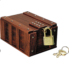 One Panel Treasure Chest