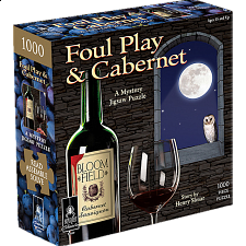 Murder Mystery - Foul Play & Cabernet - 1000 Pieces