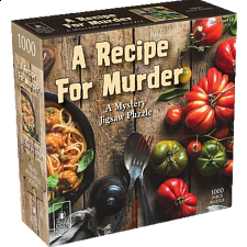 Murder Mystery - A Recipe for Murder - 1000 Pieces