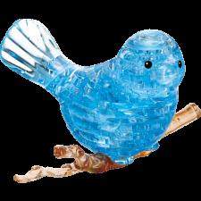 3D Crystal Puzzle - Bird (Blue) -