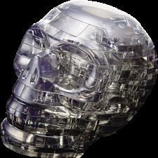 3D Crystal Puzzle - Skull (Black) -