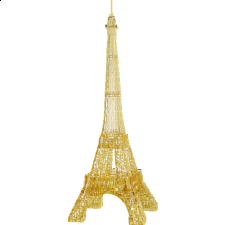 3D Crystal Puzzle Deluxe - Eiffel Tower - Plastic Interlocking Puzzles