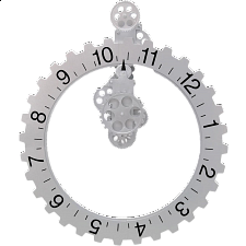 Big Wheel Wall Clock -