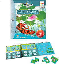 Magnetic Travel Games - Waterworld - Logic Puzzles