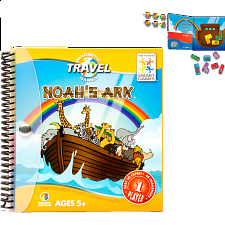 Magnetic Travel Games - Noah's Ark - Logic Puzzles