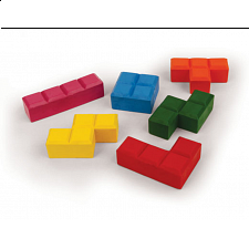 Puzzle Blocks Crayons - Children's Toys & Puzzles