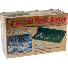 Puzzle Roll Away with 1000 pc. puzzle - Wolf
