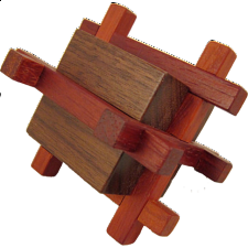 Caged Block - Wood Puzzles
