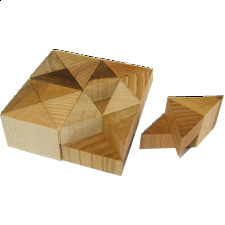 Cuboid 1 - Without Tray - European Wood Puzzles