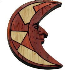 The Moon (Mond) - Wood Puzzles
