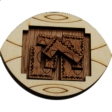 Massai mini - Wood Puzzles