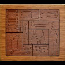Werkzeugbrett - European Wood Puzzles