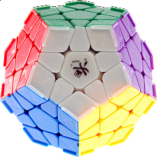 Megaminx I with corner ridges  - 12 solid color - Rubik's Cube & Others