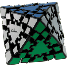 Oskar's Gear Octahedron  - Black Body