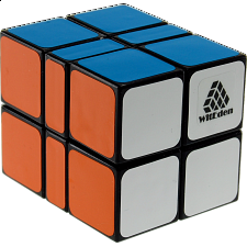 2x2x3 Camouflage I Cube - Black Body -