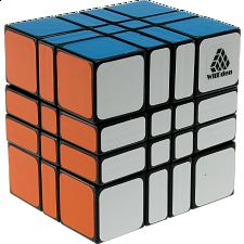 4x4x3 Camouflage Cube - Black Body -