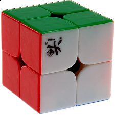 2x2x2 I - Stickerless for Speed Cubing (46x46mm) -