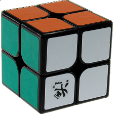 2x2x2 I - Black Body for Speed Cubing (46x46mm) -