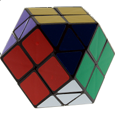 Rainbow Cube - 7 Color Black Body - Other Rotational Puzzles