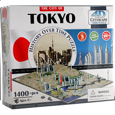 4D City Scape Time Puzzle - Tokyo - Search Results