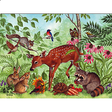 Deer Friends - Large Format - 101-499 Pieces