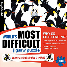 Penguins - World's Most Difficult - 500-999 Pieces