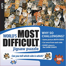 Cats - World's Most Difficult - 500-999 Pieces