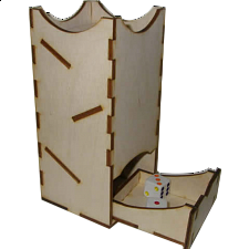 Mini Dice Tower - Birch - Search Results