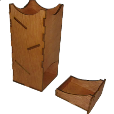 Mini Dice Tower - Wood - Search Results