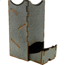 Mini Dice Tower - Stone