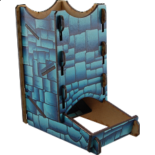 Knockdown Dice Tower - Stone