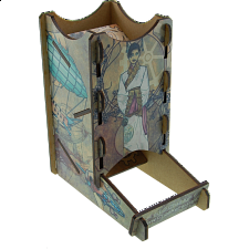Knockdown Dice Tower - Steampunk -