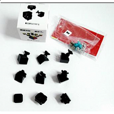 WeiLong 3x3x3 Cube DIY Kit - Black Body
