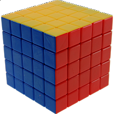 5x5x5 Stickerless Cube
