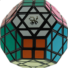 Gem Cube VII - Black Body - Rubik's Cube & Others