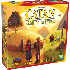 Catan: Family Edition - Board Games